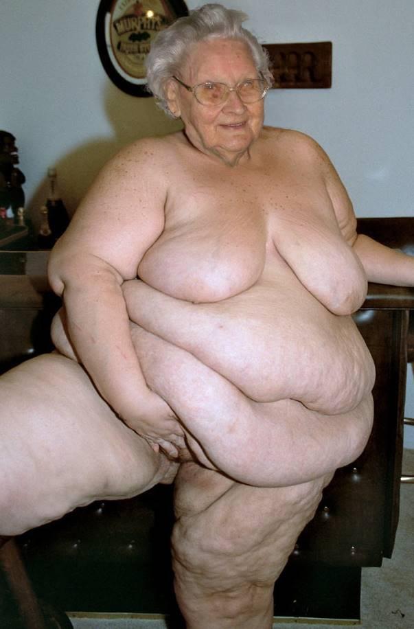 Big fat old granny porn