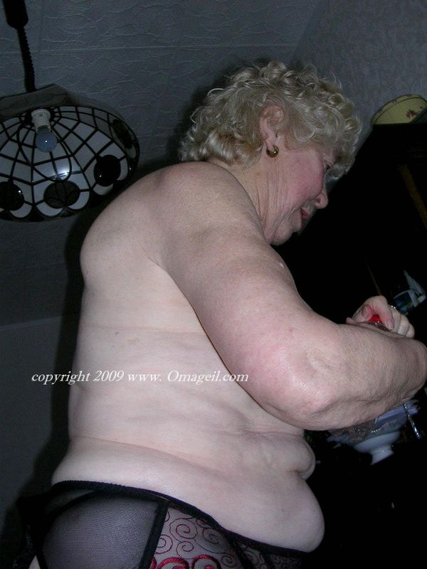 very older granny