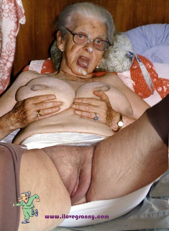 Phrase Nude granny real boobs