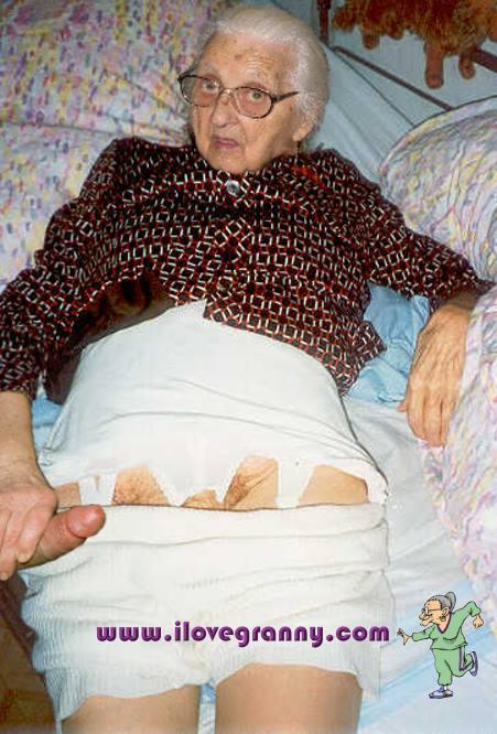 Old granny with huge tits and tanned body 8