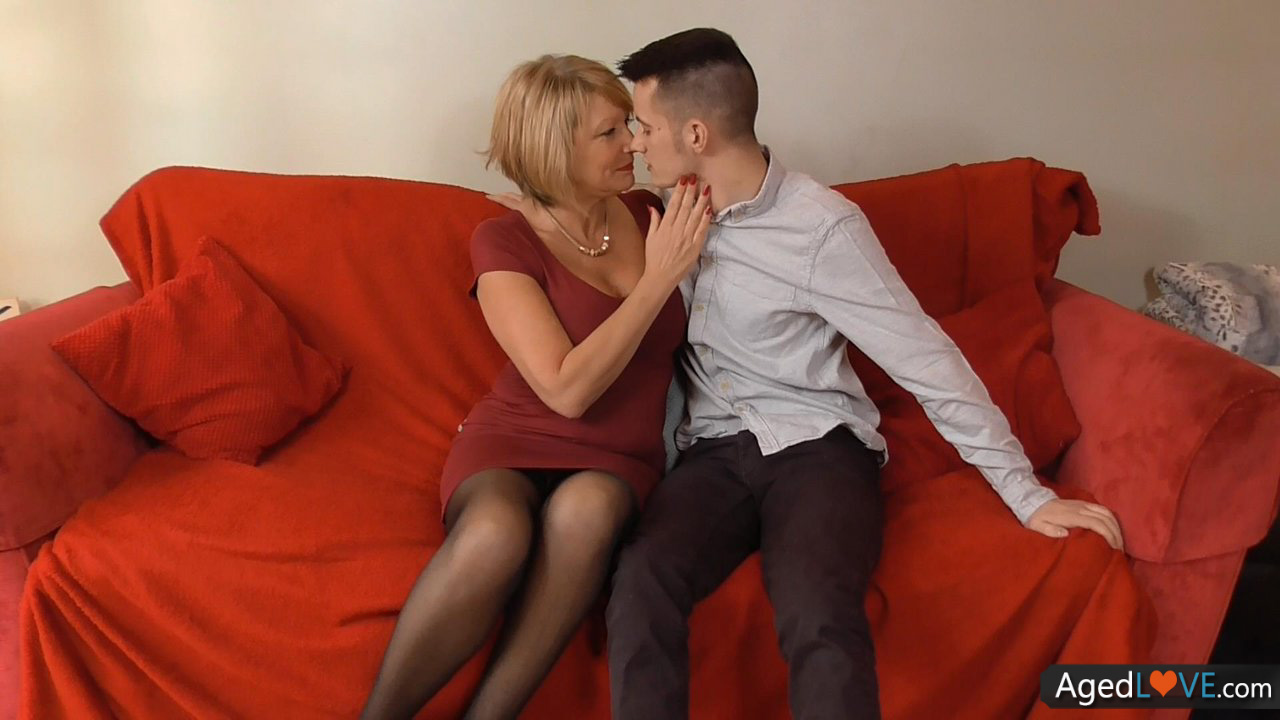 Mature woman and young man 52 5