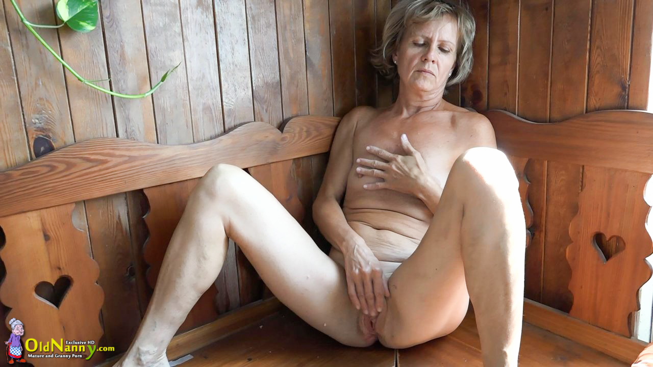 Oldnanny old and young woman masturbating and sucking dick 7