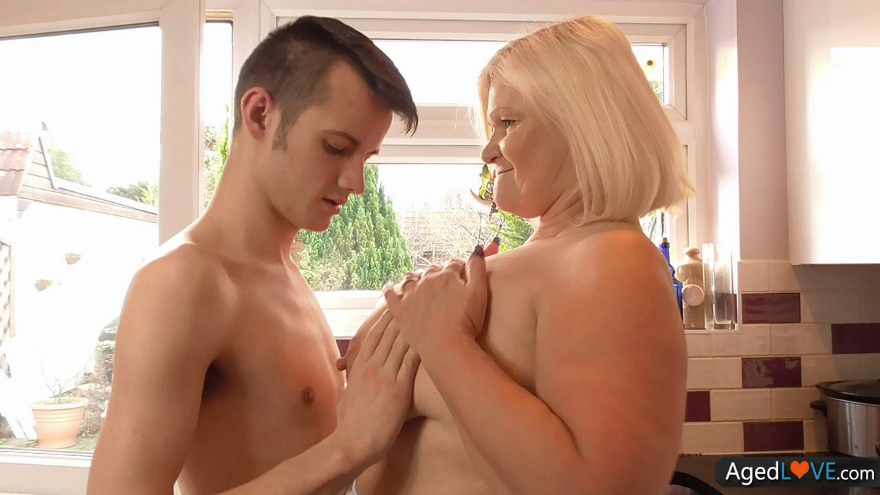 Agedlove granny with big tits banged 6