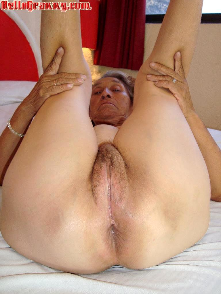 hairy ass Granny