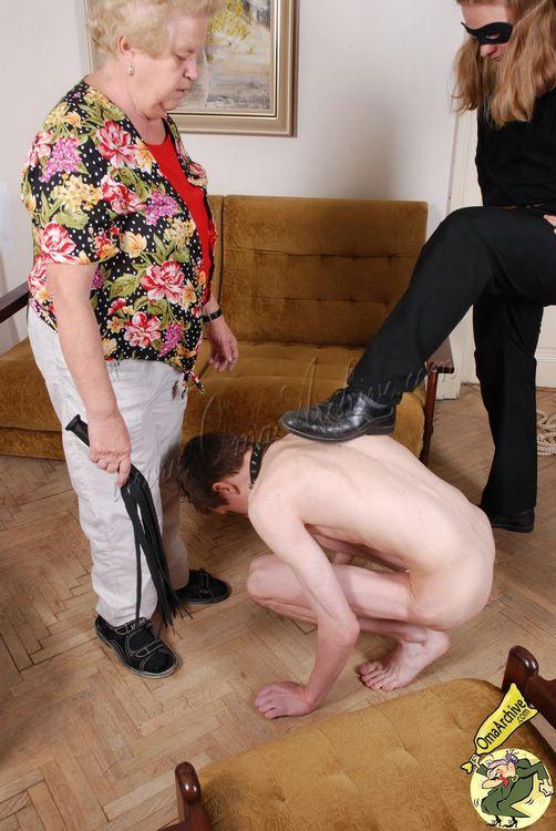 Mature dominatrix humiliates small dick losers mature sph